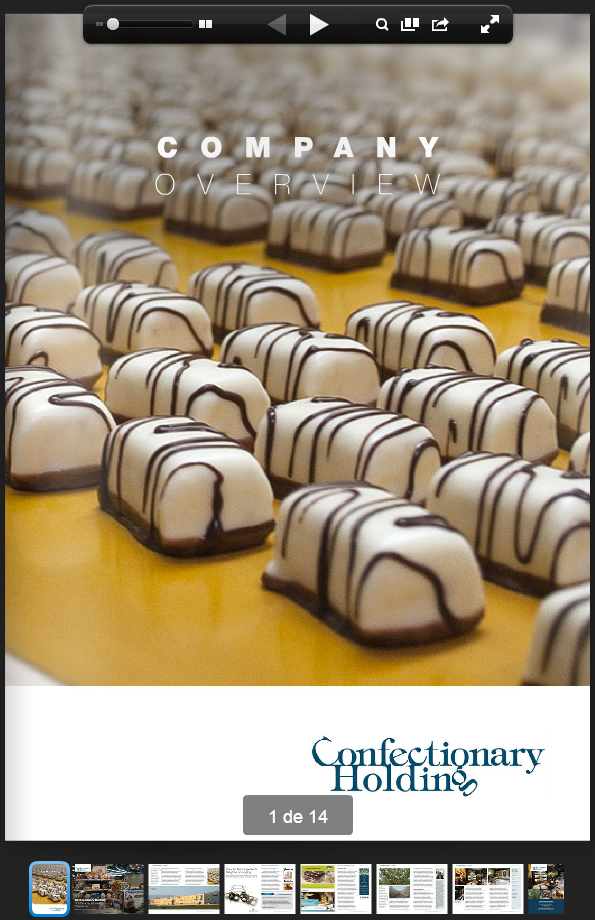 Confectionary Holding en issuu